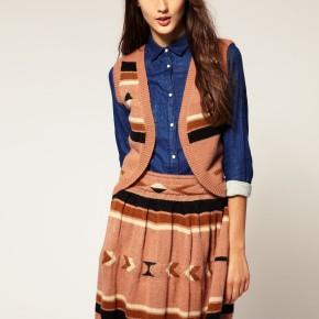 ASOS - Gilet en tricot style navajo