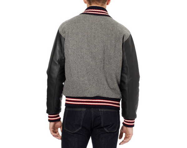 Rag & bone Wool-Blend Varsity Jacket
