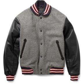 Rag & bone Wool-Blend Varsity Jacket
