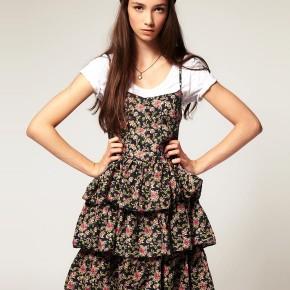 Twist & Tango - Robe volantée à imprimé floral