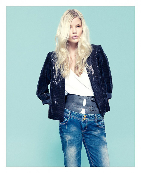 BERSHKA - lookbook octobre 2011