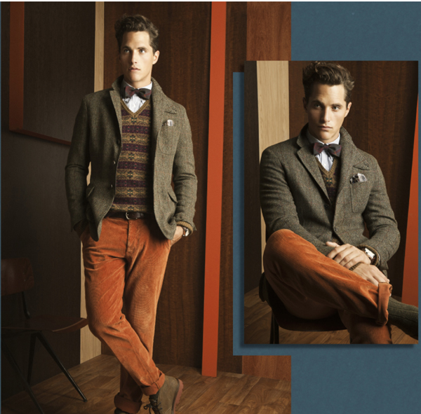 Massimo Dutti mode homme hiver 2011