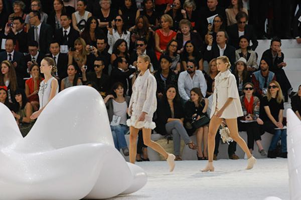 Tendances printemps été 2012 - défilé Chanel
