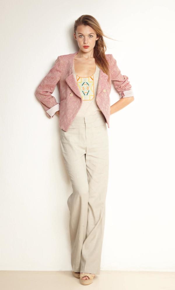 Cette veste tweed rose comptoir des cotonniers forum mode - Caroline daily comptoir des cotonniers ...