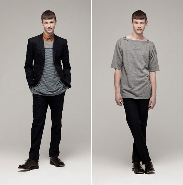 Gaspard Yurkievich - lookbook printemps été 2012