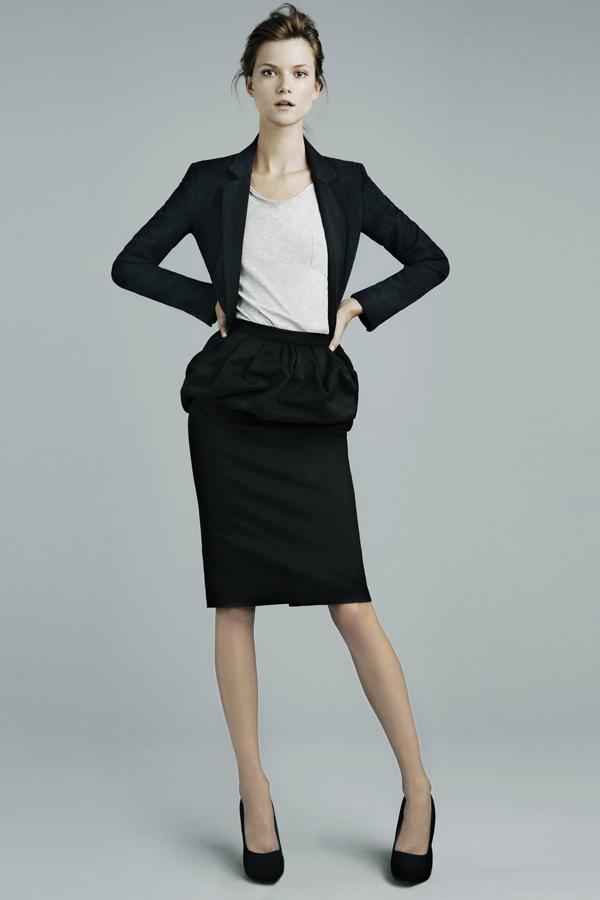 ZARA Femme lookbook novembre 2011
