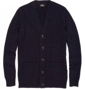 A.P.C. Classic Wool Cardigan