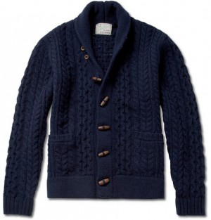 Levi's Vintage Clothing Shawl Collar Wool Cardigan