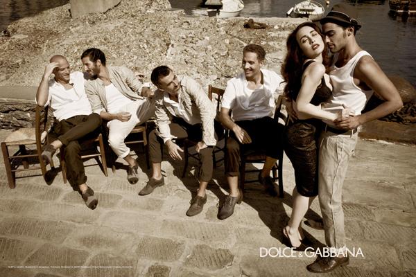 Dolce & Gabbana campagne printemps été 2012