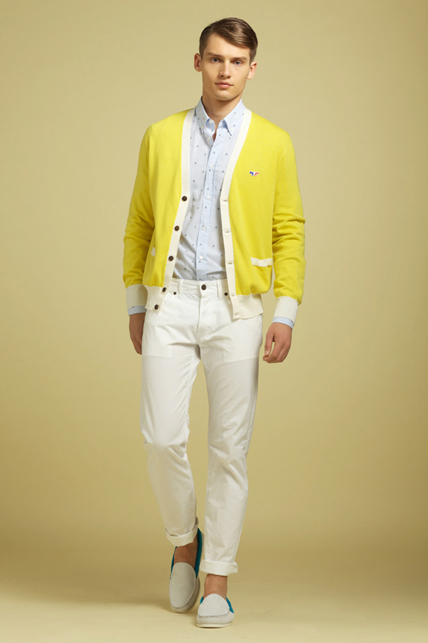 Kitsuné lookbook homme printemps été 2012