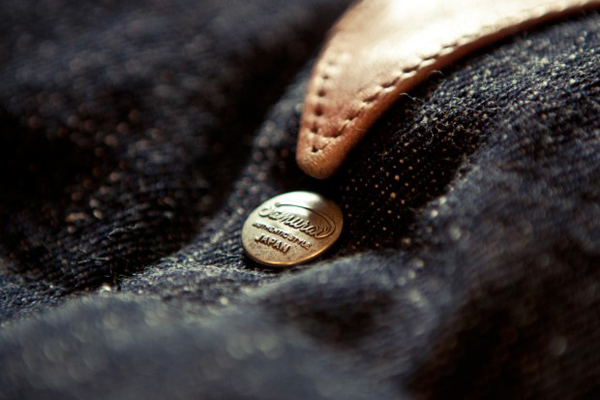 Samurai Jeans - Samurai denim down vest