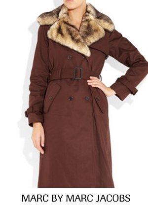 soldes hiver 2012 : trench