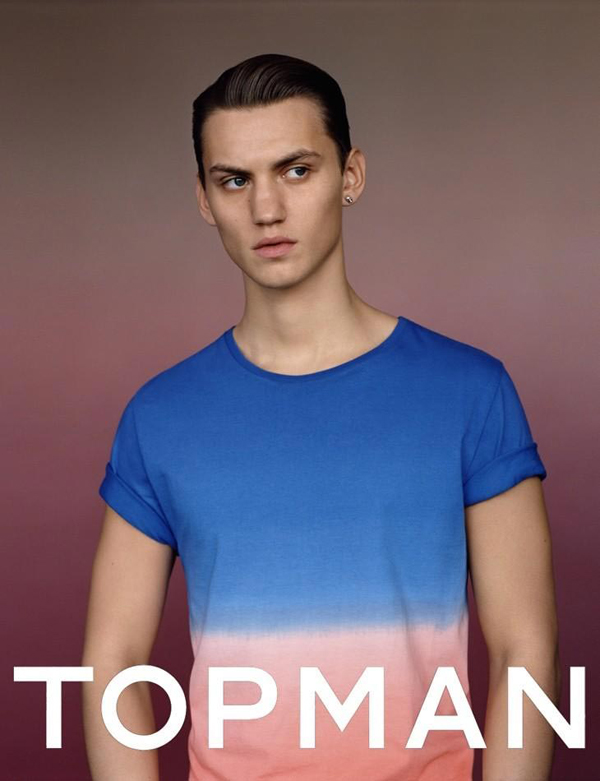 TOPMAN campagne printemps été 2012