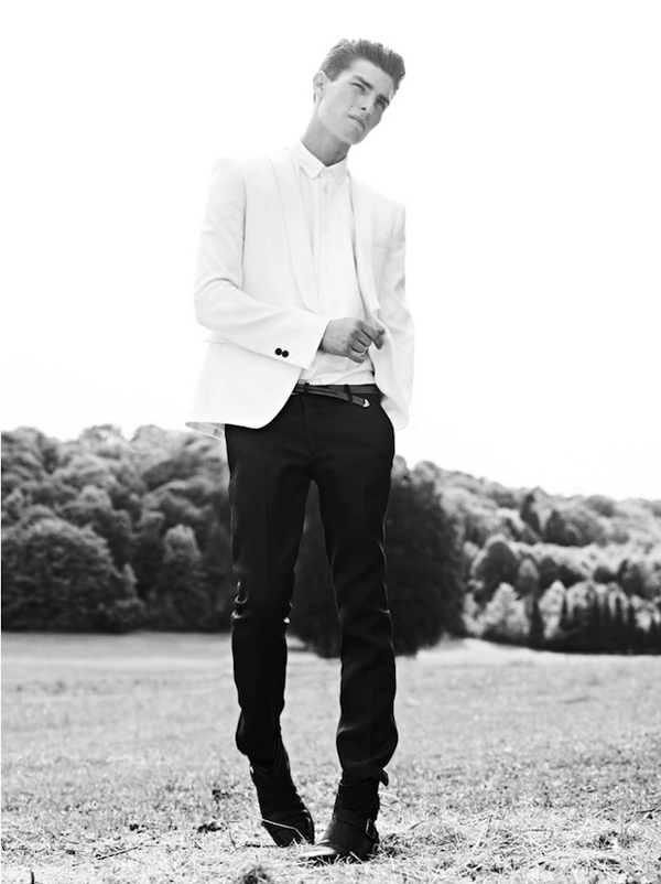 Balmain printemps été 2012 : mode homme