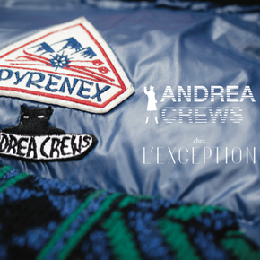 Andrea Crews x Pyrenex chez L'Exception