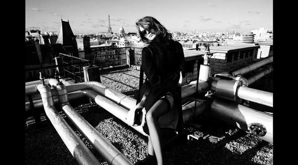 Shooting L'Exception au Lutetia