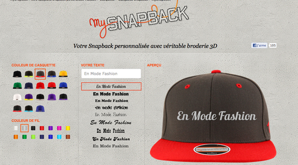 My Snapback by Headict