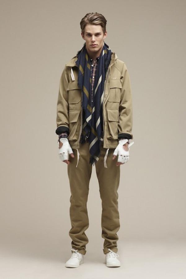 Kitsuné collection automne hiver 2012