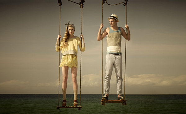 Pull and Bear collection été 2012