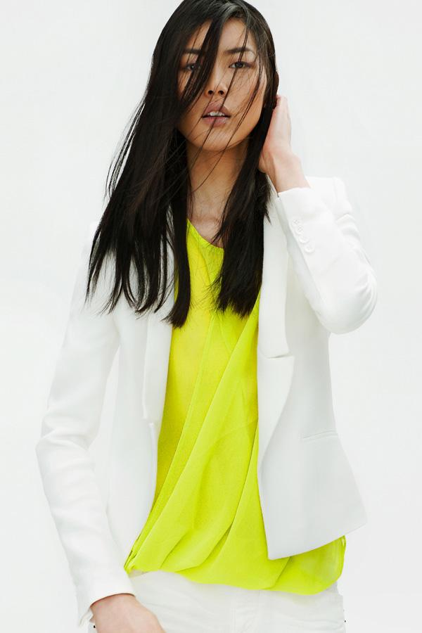 ZARA Femme lookbook avril 2012
