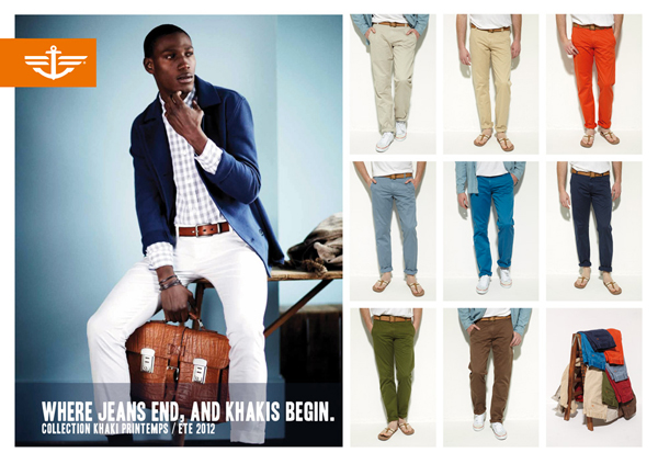 Dockers Alpha Khaki colors
