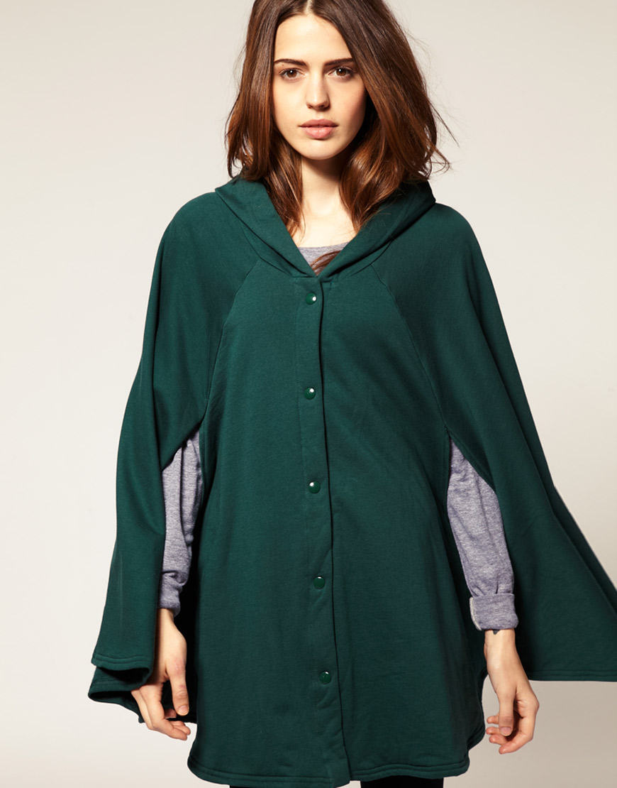 ASOS - American Apparel - cape en polaire