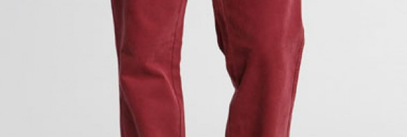 Shore Leave - Pantalon chino - Bordeaux