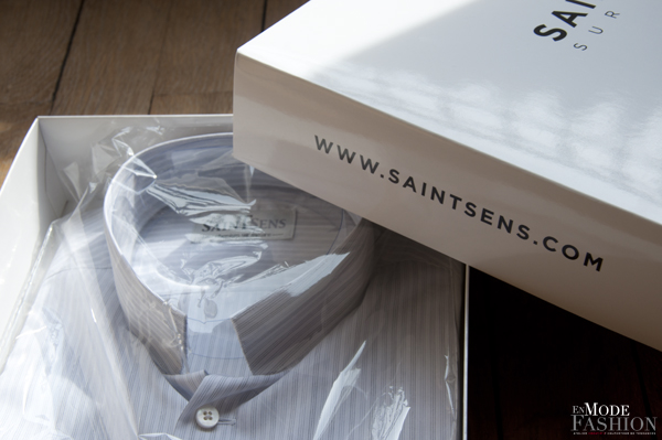 chemise sur-mesure Saint Sens