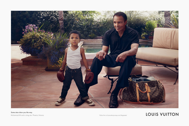 Mohamed Ali Louis Vuitton