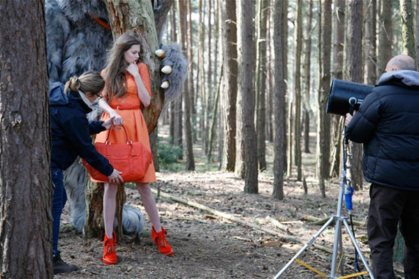 MULBERRY - coulisses campagne hiver 2012