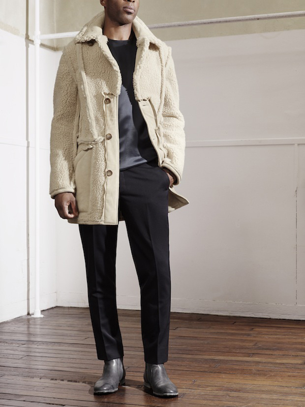 Lookbook Homme H&M x Maison Martin Margiela