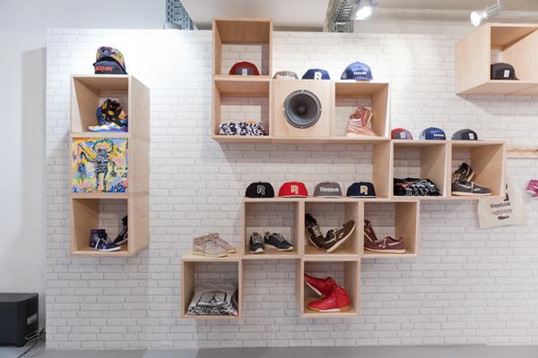 Reebok Classics Concept Store à L'imprimerie
