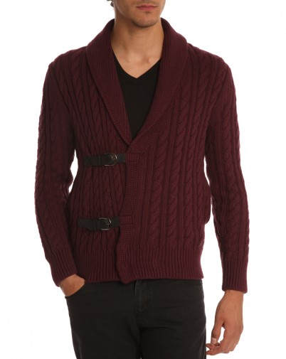 Paul and Joe - Cardigan Bordeaux Norvege