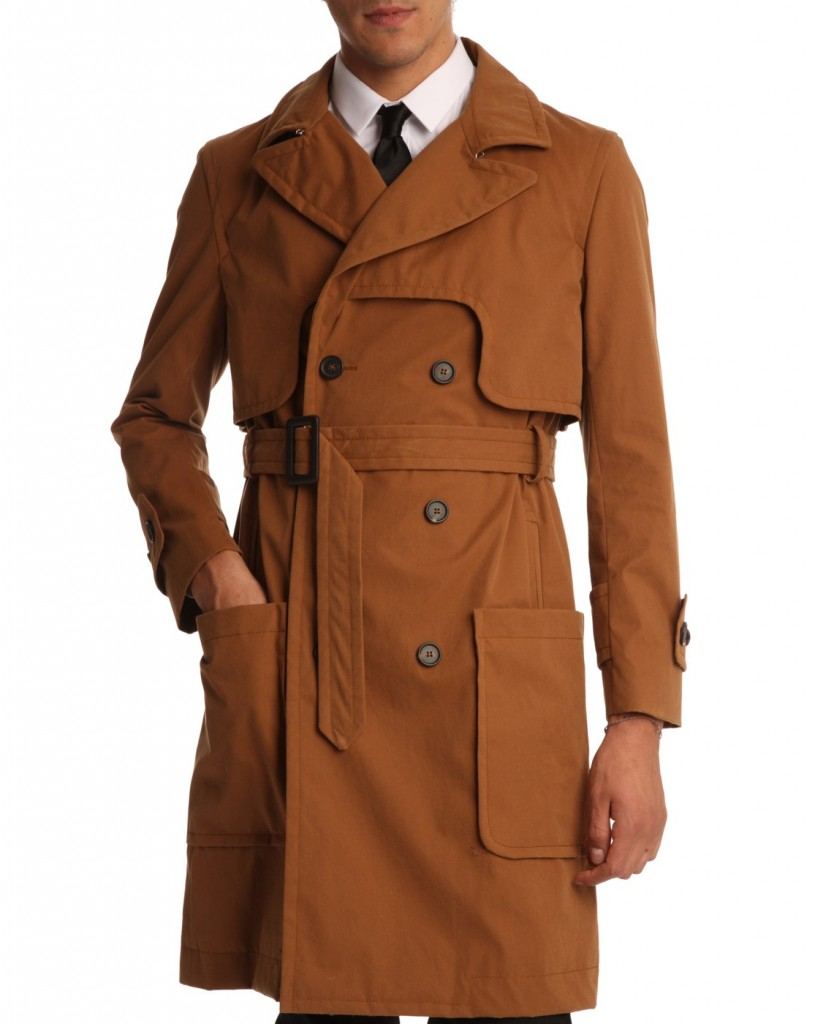 Carven - Trench cognac