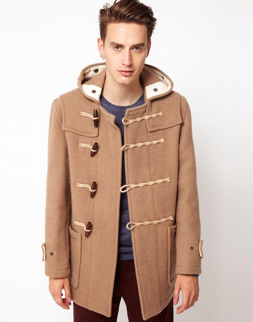 Gloverall - Monty - Duffle-coat court en laine bouillie