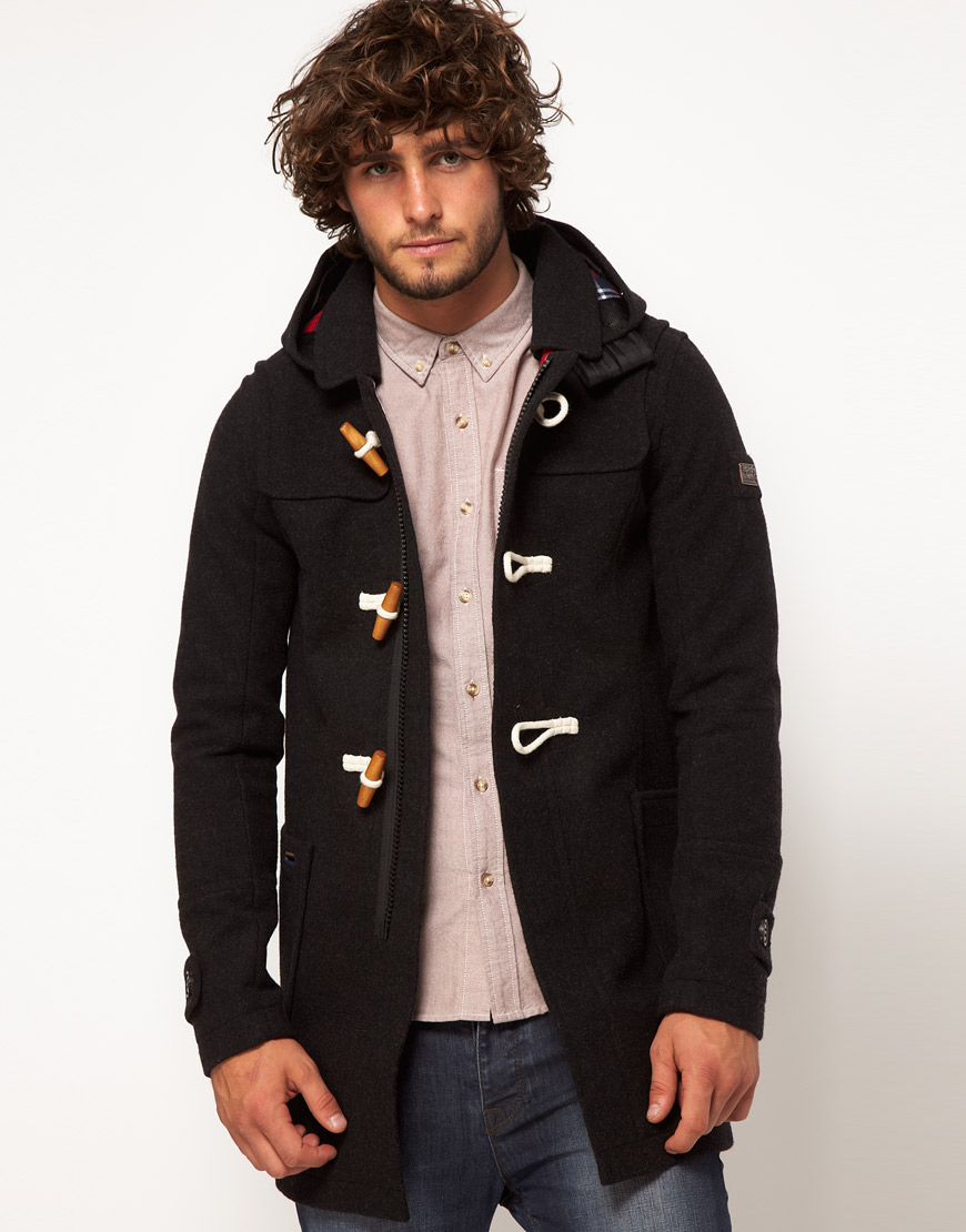 Superdry - Veste duffle-coat