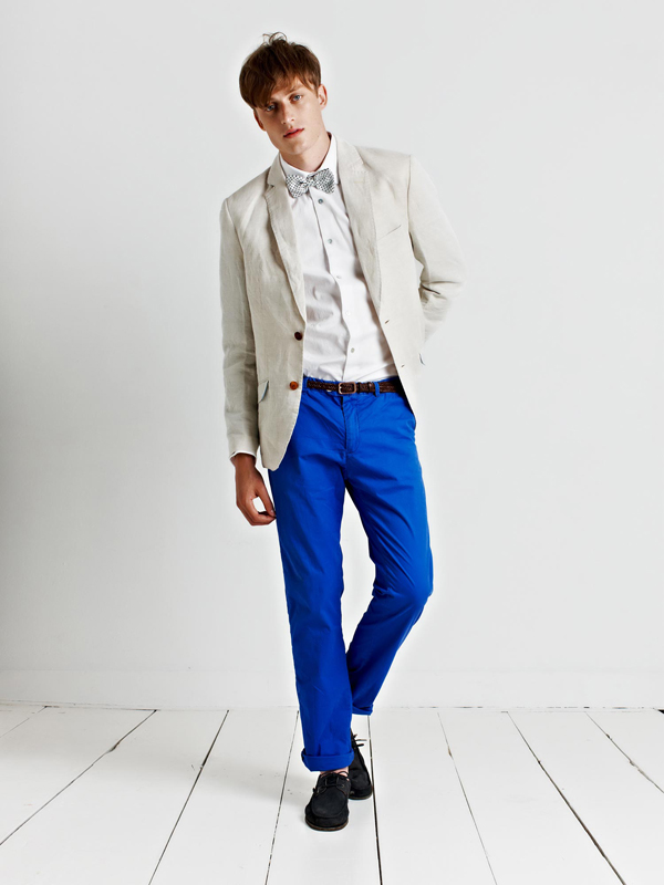 Scotch and Soda : lookbook homme et femme 2013