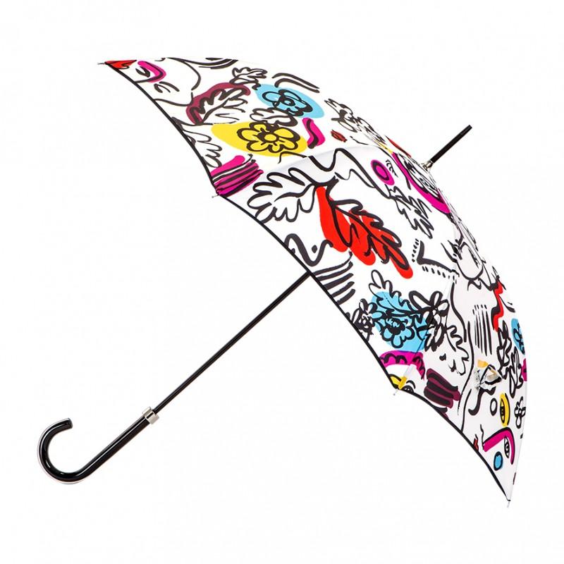 Parapluie femme homme à Cocteau
