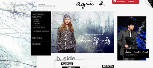 Agnes B ecommerce