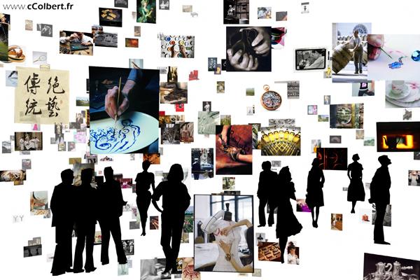 cColbert, voyage virtuel au sein du luxe français
