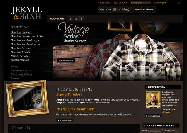 Chemise homme tendance - Jekyll & Hype