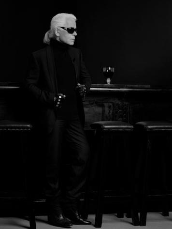 Karl Lagerfeld, un roi seul