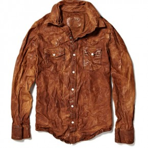 Jean Shop Leather Cowboy Shirt