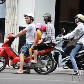 Scène de vie à Hanoi