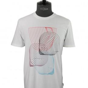 WESC - T-shirt blanc 3d
