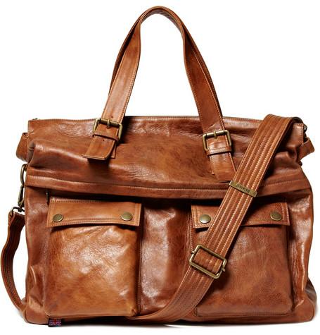 Belstaff Tour Leather Holdall Bag