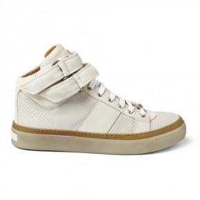Jimmy Choo Motcombe Snakeskin-Effect Sneakers