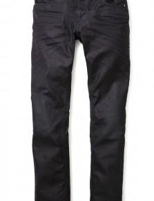 Nudie Jeans Thin Finn Black Coated Indigo Skinny Jeans-3