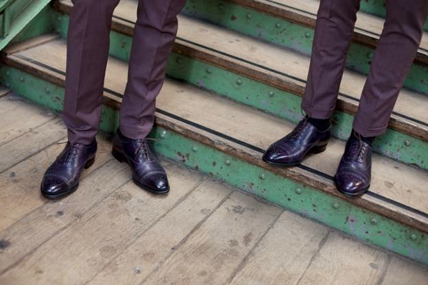 john lobb x paul smith