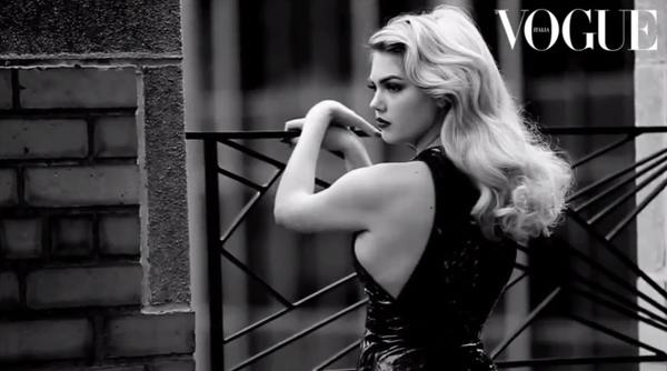 Kate Upton x Vogue Italia